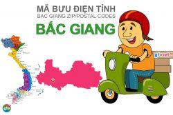 Mã bưu điện tỉnh Bắc Giang