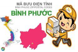 Mã bưu điện tỉnh Bình Phước