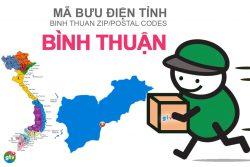 Mã bưu điện tỉnh Bình Thuận