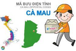 Mã bưu điện tỉnh Cà Mau