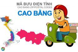 Mã bưu điện tỉnh Cao Bằng
