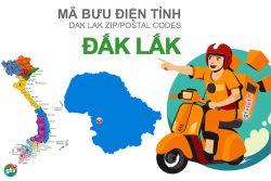 Mã bưu điện tỉnh Đắk Lắk