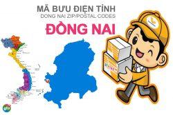 Mã bưu điện tỉnh Đồng Nai