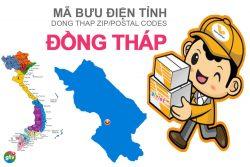 Mã bưu điện tỉnh Đồng Tháp
