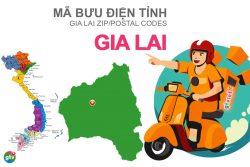 Mã bưu điện tỉnh Gia Lai