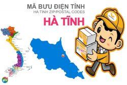 Mã bưu điện tỉnh Hà Tĩnh