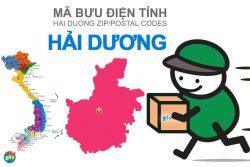Mã bưu điện tỉnh Hải Dương