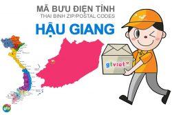 Mã bưu điện tỉnh Hậu Giang