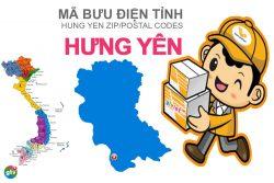 Mã bưu điện tỉnh Hưng Yên
