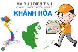 Mã bưu điện tỉnh Khánh Hòa