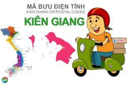Mã bưu điện tỉnh Kiên Giang