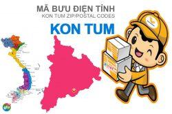 Mã bưu điện tỉnh Kon Tum