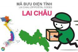 Mã bưu điện tỉnh Lai Châu