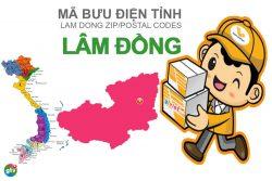 Mã bưu điện tỉnh Lâm Đồng