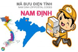 Mã bưu điện tỉnh Nam Định