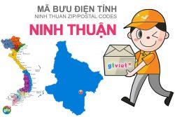 Mã bưu điện tỉnh Ninh Thuận