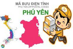 Mã bưu điện tỉnh Phú Yên