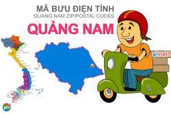 Mã bưu điện tỉnh Quảng Nam