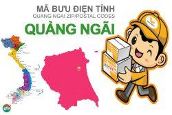Mã bưu điện tỉnh Quảng Ngãi