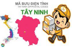 Mã bưu điện tỉnh Tây Ninh