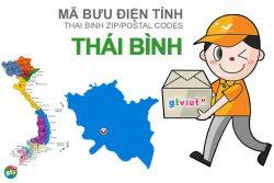 Mã bưu điện tỉnh Thái Bình