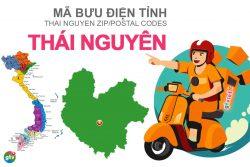Mã bưu điện tỉnh Thái Nguyên