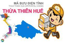 Mã bưu điện tỉnh Thừa Thiên - Huế