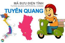 Mã bưu điện tỉnh Tuyên Quang