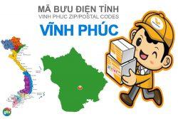 Mã bưu điện tỉnh Vĩnh Phúc