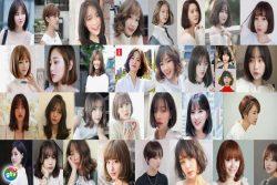 Tóc ngắn cho nữ mặt dài