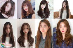 Tóc dài cho Nữ mặt dài