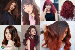Tóc đỏ cho Nữ