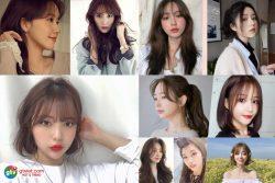 Tóc mái Hàn Quốc cho Nữ