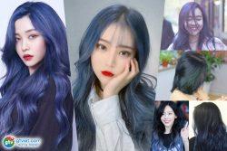 Tóc xanh đen cho Nữ