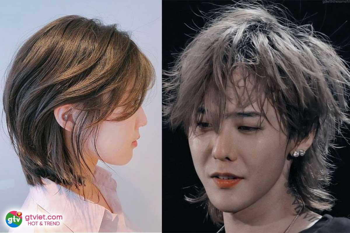 Kiểu tóc Mullet Hàn Quốc