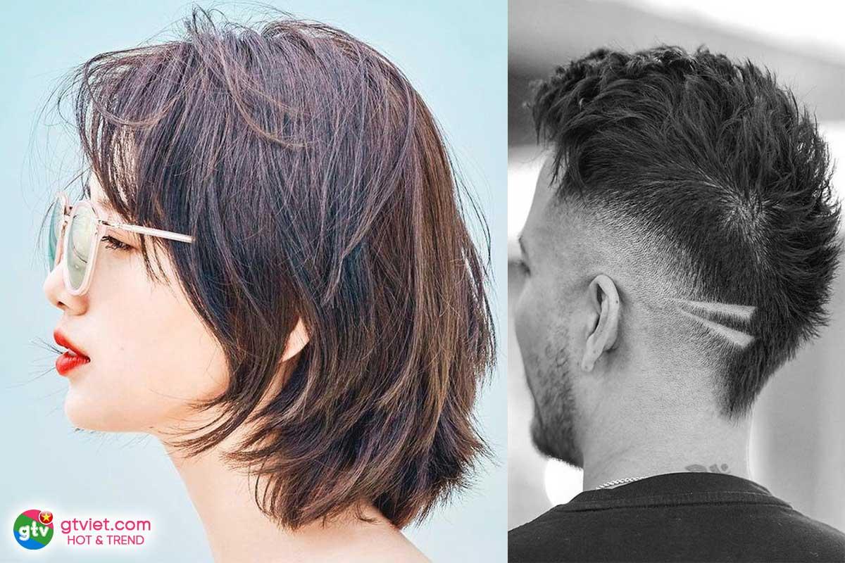 Kiểu tóc Mullet Layer